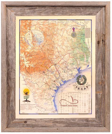 map picture frame buy revolution map 1836 large framed republic of