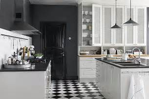 black and white kitchen floor ideas bistro kitchen decor how to design a bistro kitchen