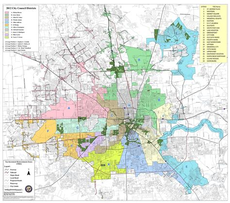 city of houston jurisdiction map what is a tirz what is tirz in the city of houston
