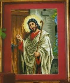 imagenes catolicas de jesus tocando la puerta 1000 images about imagenes religiosas a punto de cruz on