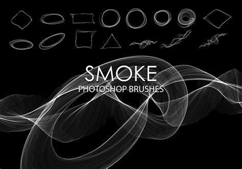 abstract pattern brushes photoshop free abstract smoke photoshop brushes 4 free photoshop