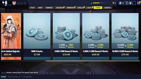 fortnite free v bucks how to earn v bucks for free in fortnite to unlock rewards