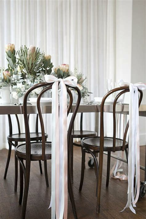 easy diy wedding chair decorations 10 creative chair decor ideas intimate weddings small wedding diy wedding ideas for