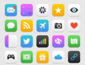 freebie mobile app icon set ai eps amp psd