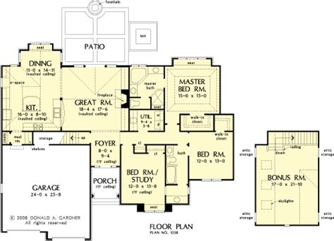 direct from the designers house plans the greenbranch house plans first floor plan house plans