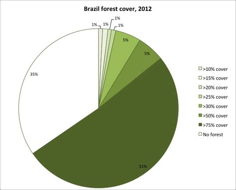 how much land in a section rainforests of brazil an environmental status report
