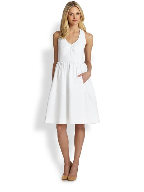 Whiens Dress Anak 03 lyst kate spade new york hton dress in white