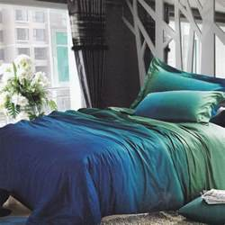 teal comforter sets teal gradient bedding set restyle