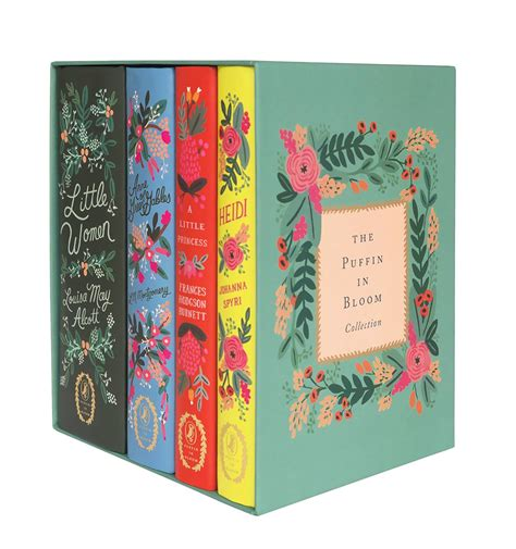 libro heidi puffin in bloom little women rifles rifle paper co and a little princess