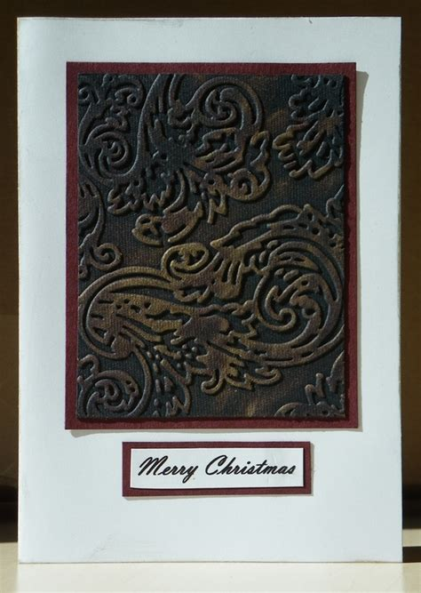 embossed panel card templates 02097 card idea gallery craft n home