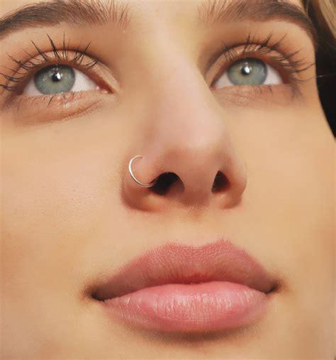 benittamoko septum nose ring piercing