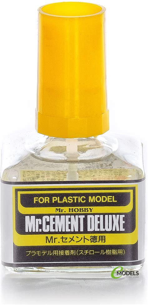 Mr Cement Deluxe Mr Cement S mr cement deluxe economy bottle 40ml brush type 127 ebay