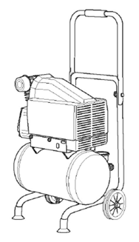 lfidva portable oil  air compressor manual   owners manual