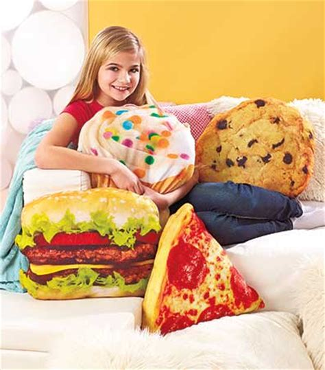 plush bed rest pillows the lakeside collection novelty food shaped pillows the lakeside collection