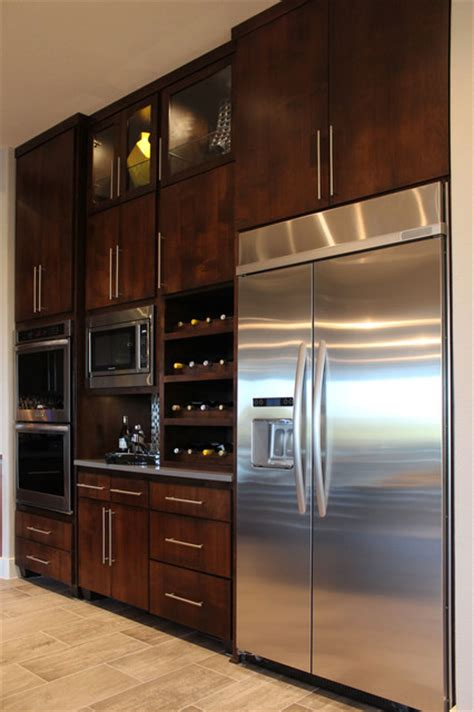 Slab Veneer Cabinet Doors In Select Walnut By Taylorcraft Slab Door Cabinets