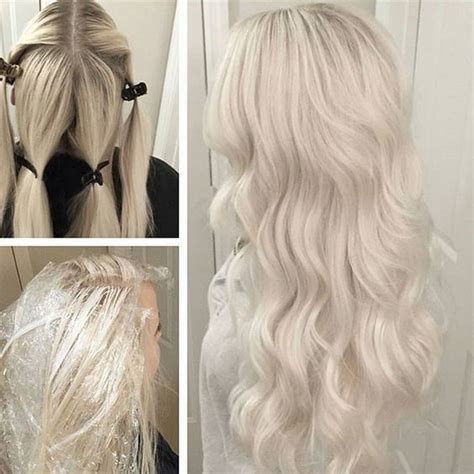 hair coloring formulas for going blonde beautiful frozen blonde by marcusbyerly client wanted