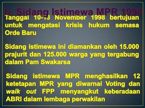 Adili Soeharto 1 indonesia era reformasi part 1