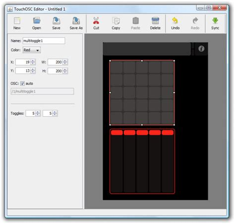 layout editor touchosc touchosc controller with template editing coming soon to