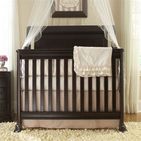 Creations Baby April Convertible Crib In Chocolate 6055 Creations Baby Crib