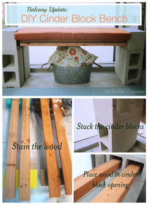how to make your own bench create your own sturdy cinder block bench for under 20