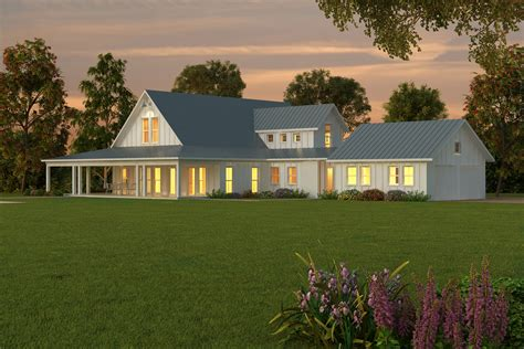 One Level Country House Plans by Single Floor Country Home Plans