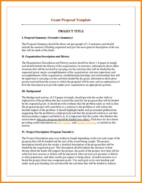 11 proposal executive summary exle nurse resumed
