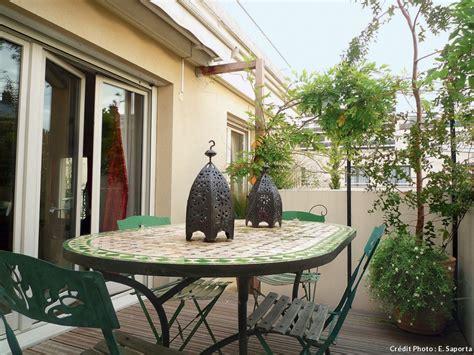Patio Pots Am 233 Nager Un Balcon En Ville D 233 Tente Jardin