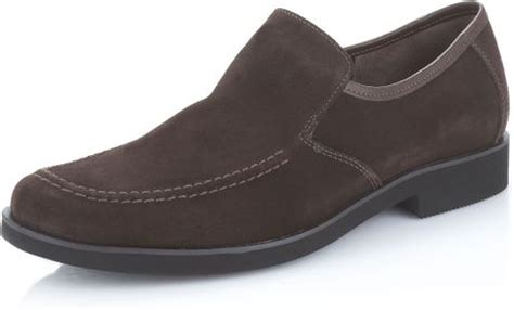 hush puppies suede loafers hush puppies 174 reminisce suede loafer in brown for