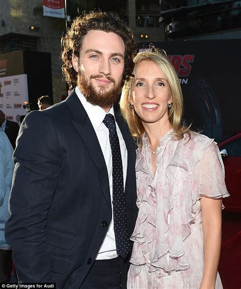 aaron taylor johnson on marriage aaron taylor johnson reveals wife sam saved him as a