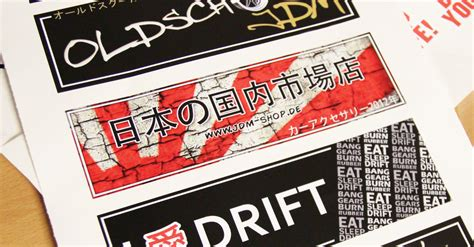 Jdm Aufkleber Bedeutung by Jdm Shop Rising Sun Japan Style Aufkleber