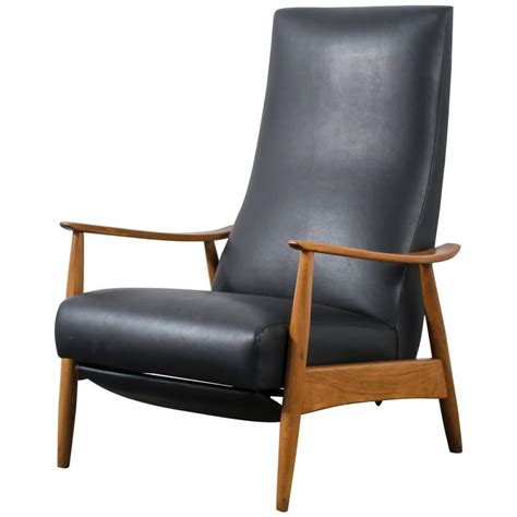 Baughman Recliner by Vintage Milo Baughman Recliner At 1stdibs