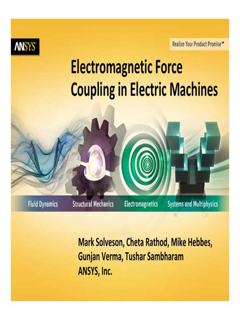 analysis of synchronous machines second edition books ansys simulation of electromagnetic coupling