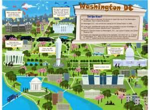 Washington Dc Tour Map by 10 Interesting Washington Dc Facts My Interesting Facts