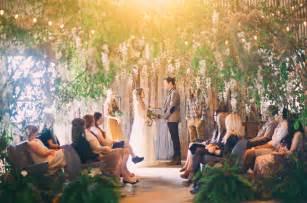 Bohemia Chandelier Whimsical Bohemian Wedding Inspiration Green Wedding