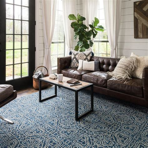Joanna Gaines Living Room Rug Emmie Navy Rug Living Rooms Room And Joanna