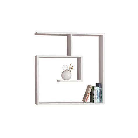 mensola a parete spyral mensola libreria da parete in legno melaminico