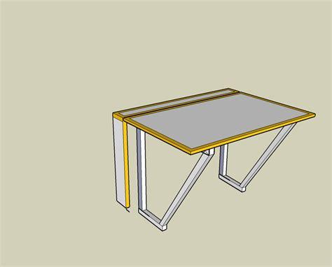 folding desk fold away desk richard sothcott brighton carpentry