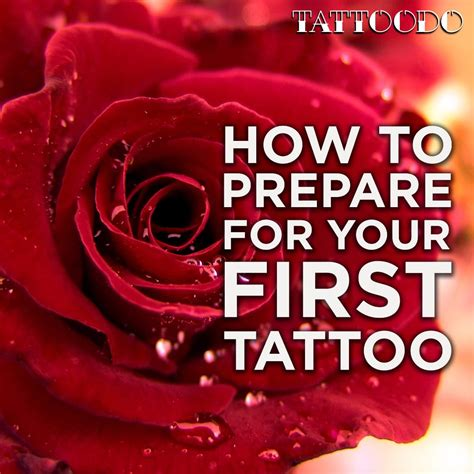 how to prep for a tattoo how to prepare for your tattoodo
