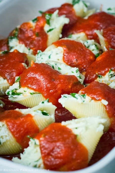 Stuffed Shells Recipe With Cottage Cheese by Stuffed Shells Only I Make With Four Cheese