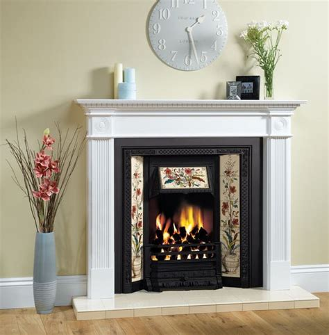 ex display stovax tiled insert fireplace for