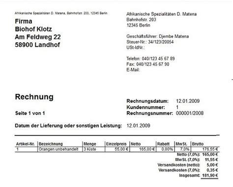 Rechnung Stellen Privatperson Muster Wiso E 220 R Kasse 2009 G 252 Nter D Alt De Software
