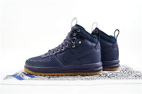 Best 25 Navy Blue Sneakers 2017 Nike Lunar 1 Duckboot High Tops Sneakers