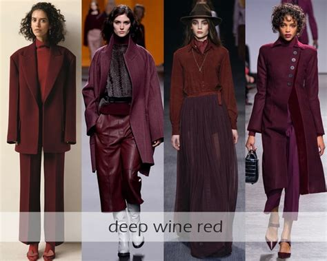 clothing color trends for 2017 clothing colors fall winter 2016 2017 fashion trends