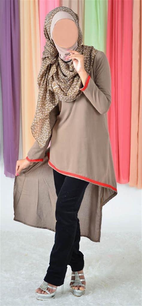 Baju Murah Mono Stripe Dress blus muslimah vannara 281 http pernikmuslim pakaian muslim busana muslimah busana