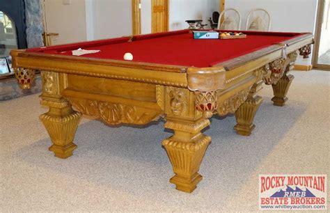 high end peter vatalie quot lord nelson quot pool table