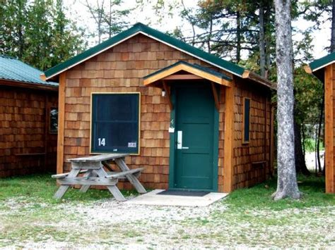 Cabins Near Mackinaw City by Inside 3 Person Cabin Picture Of Mackinac Lakefront