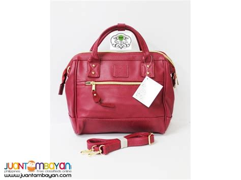 Anello Bag Maroon anello bag leather convertible maroon bag mss001l