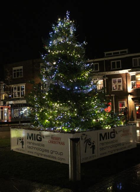 town centre lights solar firm lights up exmouth town centre the exeter daily