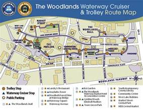 map of woodlands the woodlands