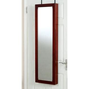 mirror jewelry armoire ample storage with style from sears